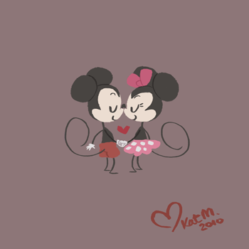 A very sweet piece for a Valentine's Day past by Taffygiraffe.
