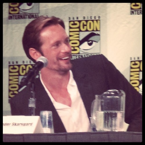 Skarsgard; Comic-Con 2011 (Taken with instagram)