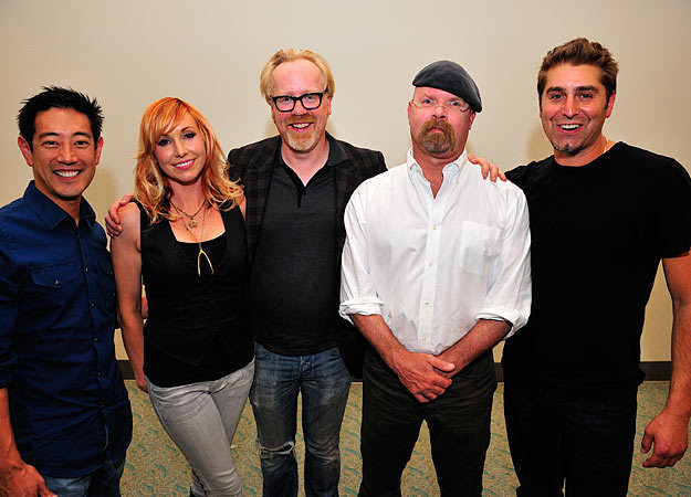fuckinfrenchtoast:  The MythBusters at Comic Con 2011