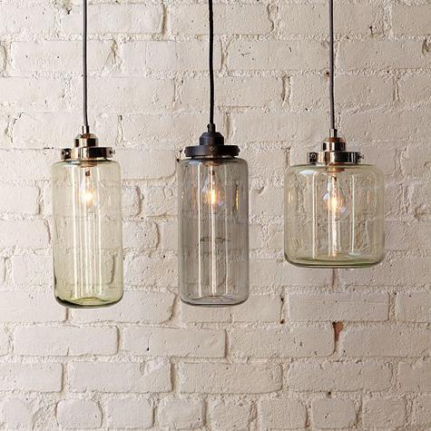 Would love these in my dining room. (via West Elm : Remodelista)