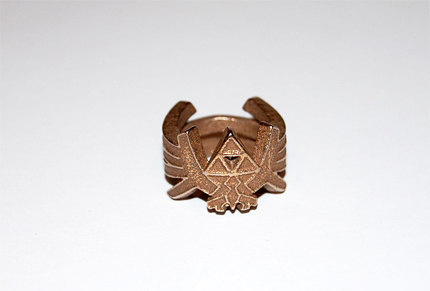 Awesome Triforce ring!