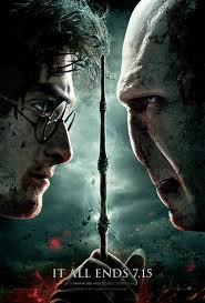 """Harry Potter and the Deathly Hallows, Part 2""Written by Steven Kloves, based on the novel by J.K. Rowling; Directed by David Yates. Stars: Daniel Randcliffe, Emma Watson and Rupert Grint. Story: After seven years at the Hogwarts school of magic and battling his nemesis Voldemort, things come to a head and the final battle ensues. Seen by Lars & Adam, July 17, 2011 LARS: It's a miracle that this film series has worked out as wonderfully as it has over the span of no less than eight movies. That's an enormous amount of movies. Sean Connery only played Bond in 6 movies. Indiana Jones is 3 movies (I refuse to acknowledge the 4th). Star Wars is 6 movies. So doing 8 movies of high quality and unbroken continuity may actually be a first in the history of the movies.The kids they cast grew up be actors. No one could have known, when they cast Radcliffe, Grint and Watson, that they'd turn into fine thespians. While this last movie is really Harry's show, both Hermione and Ron have their moments in the sun, in particular in the first half of the four and a half hour long opus that is ""Deathly Hallows"". The supporting cast is made up of British acting royalty. It's a who's who of Sirs and Dames and Oscar winners en masse. If you're a British actor of repute, you're probably asking yourself what went wrong, if you were never offered a part in any of the Harry Potter movies? They are all great, but a special tip of the beret must go to Alan Rickman, whose portrayal of Severus Snape is only fully appreciated and understood in this last movie. It's a performance for the ages, and I would not be surprised to see him get acting nods, when awards time rolls around.Adam and I got together a bunch of people and watched all 8 movies in a row to get the full story and see what the impact of continuity would be. It was about 17 hours worth of Harry Potter over two days. They are all surprisingly watchable and only get better along the way. J.K. Rowling's genius (aside from her amazing storytelling skills) was to up-age the story, as Harry grew older. The same thing happens in the movies. Chris Columbus did a decent job directing the first two movies. As they are essentially kid's movies, they were right up his alley. But producer David Heyman had a stroke of genius, when he got Mexican director Alfonso Cuaron to direct what many consider to be the best film in the series, ""The Prisoner of Azkaban"". It was not exactly obvious casting, as Cuaron was coming right off of ""Y Tu Mama Tambien"", decidedly not a children's movie. But Cuaron took the series in a much darker direction, where the mere fact that the main characters are children doesn't change that the evil lurking out there in the form of 'he who shall not be named' and his cohorts is absolutely real. Heyman pulled another surprise out of the hat, when he asked David Yates to direct the last four movies in the series. Yates had mostly done TV up until then and there was little that made it look like he was the right man for the job. But he grew into the gig, and the last Potter movie also has the honor of being the best of the series, in my opinion.Finally, screenwriter Steve Kloves deserves a round of applause. He has written the screenplay for every film, except ""The Order of the Phoenix"" (I wonder why he didn't write that one?). Ignorants might say that it's all there on the page in the books. But without clever pruning and restructuring, the films would have been 5 hours each. Kloves worked very closely with J.K. Rowling and she would give him pointers as to which things he really couldn't leave out of the films, as they would become important later on. Apparently Rowling had most of the story in her head from the beginning.So, after this epic preamble, what's the last movie like? Well, first of all, parts 1 and 2 of 'Deathly Hallows' are really just one movie that happened to be chopped into two. Partially because Warner Brothers didn't want to kill the golden goose, but in reality, no film could have done justice to the story in one go. It needed time to breathe and evolve. Thus we had Part One that was all 'woe is me' for Harry, as he went looking for the parts of Voldemort's soul that was hidden in 7 horcruxes. It was all about setting the scene for the final showdown between the forces of good and evil in Part Two.So if Part One was all about exposition and explanation, Part Two is all about action. The time for running is over. So after a fantastic set piece that must rank with the best of the series, where our trio of heroes goes to Gringott's Vaults to find a final horcrux and make a spectacular escape on a dragon, it's time to go back to Hogwarts and prepare for the final battle. When I read the book, I was wondering if The Battle of Hogwarts might be the one to challenge The Battle of Minas Tirith from the ""Lord of the Rings"" trilogy. While it isn't quite that, it is incredibly satisfying to see minor characters have their moment in the sun. Neville Longbottom, Professor McGonigal and Mrs Weasley all get a chance to shine and bring closure to their character arcs. And it is a battle to keep you on the edge of your seats for the duration.Reading the books, I was always sure that Harry's ultimate destiny would be to die to save the world, but of course Rowling had me somewhat outsmarted. It'd be a shame to reveal too much of the details of the final showdown between Harry and Voldemort, except to say that for the first time ever Radcliffe impressed me as an actor. He is asked to do some pretty preposterous things, but he brings grit, despair and purpose to his part and brings Harry's plight to life better than ever before.Rowling has said that she won't be writing any more books about Harry Potter. But every now and then, she'll tease. As recently as a few weeks ago, she said to a reporter that Harry was her creation, and if she ever felt like writing about him again, she'd do it. Who knows? Both Rowling and the final film does bring closure of sorts to Harry's journey, but also opens up whole new storylines that could be pursued.A suitably epic and awesome finale, then, to a piece of film history, where everything went right - almost as if it were touched by a little bit of magic. ADAM:  Though not a super fan (I haven't read even one of the books), I've really enjoyed the Harry Potter series on the whole. I could see my eleven-year-old self buying my wand and supplies in Diagon Alley, bundling up my trunk and my owl, running through the wall to platform 9 ¾, hopping on the express and going to Hogwarts. Who wouldn't? The ultimate fantasy element surrounding a school where anything can happen — from the magically floating trays of pies and turkey legs in the dining hall to the cloak of invisibility and the Marauder's map; the foul tasting Bertie Bott's Beans to secret passages, flying ghosts, talking portraits and Hermione's ability to stop time drew me in. And it was these magical details, the learning of the spells and the practicing with the potions that I found myself missing as Harry and his cohorts began to grow up and the movies became darker and more centered on the lead up to the ultimate battle of Good versus Evil. The Prisoner of Azkaban is my favorite installment. With the most intricately wrought, creatively original story, combined with the superb direction by Alfonso Curon, it is by far the superior film of the series, in my mind.Still, following an epic 2 day Potter-thon, chez Bastholm, I felt fully immersed in all things Hogwarts and ready for the eagerly awaited conclusion to the truncated Deathly Hallows Part 1.  And I wasn't disappointed. The finale to this tremendous series was beautifully shot and full of exciting set pieces. The dangling storylines were tied up and special pains were taken to give even some of the more minor (but beloved) characters at Hogwarts a final moment to shine. Good and Evil faced off yet again, and the result was ultimately very satisfying. Deathly Hallows Part 2 is a summer blockbuster in the true sense, providing ""edge of your seat"" action, a (very) few laughs, tears, cheers and oddly, given that it's actually just the second half of a story, the feeling that there really is a beginning, middle and end. In fact, I argue that the Deathly Hallows should have been one three-hour film – comprised of 75% of part 2 and 25% of part 1 (which was waaaay longer than need be in the padded & greedy attempt by the studio to eke another movie out of the series).At the risk of sounding like too much of a hater, I feel like there were some missed opportunities (not just in the finale but from the 4th or 5th film on) to get really creative story-wise. My biggest issue with the Potter films, in general, is that Harry isn't very interesting and often, not very smart. He is mostly handed the answer to the mystery or stumbles on the solution to his problems by chance. His failure to confide in his friends, his teachers and his mentors is usually his undoing and the frustrating realization that if Harry would just SAY SOMETHING, his problems would be easily solved, remains a repetitive force in virtually every story.  Luckily, there are so many other interesting, characters, with phenomenal performances by virtually every talented British actor alive, that Harry's blandness doesn't ruin the films.  And not to knock J.K. Rowling or screenwriter Steve Kloves, I feel like that when you are creating a world where magic exists – the possibilities are endless. And I was disappointed that the Polyjuice Potion spell was the major solution to getting information or solving a situation time and again. The first time it was cool. And the use of the polyjuice potion spell in the Ministry of Magic was probably the best thing about the Deathly Hallows Part 1 but the over use of that spell and the ensuing hijinks, just started to feel unoriginal.  Minor criticisms aside, this incredible series was a spectacle of consistently tremendous filmmaking, amazing effects, gorgeous costumes and dozens of nuanced performances. It's sad to see it come to an end. And maybe it hasn't…  I hear that talks of a TV series are in the works. Let's hope it's produced by the BBC."