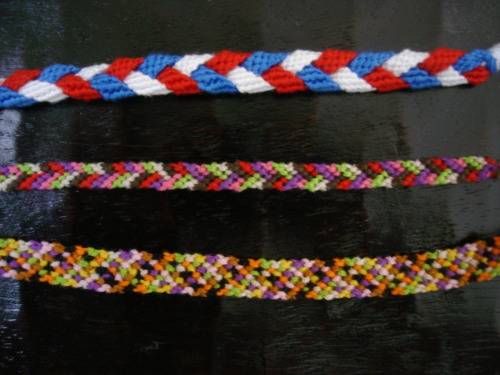 Bracelets I've made. http://keepsmilingforever.tumblr.com/