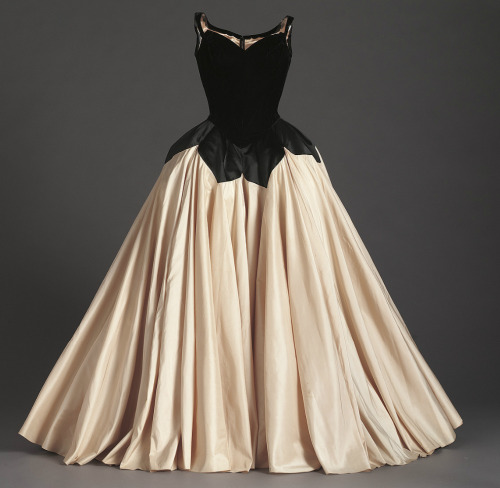 """Petal"" ball gown by Charles James, 1951 From the Phoenix Art Museum"