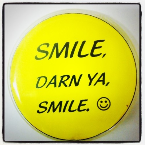 #smile #makethemostofit (Taken with Instagram at Black Dagger Tattoo Lounge)