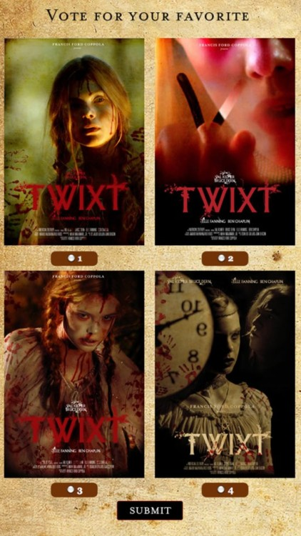Which Poster For Francis Ford Coppola's 'Twixt' Do You Prefer? | /Film
