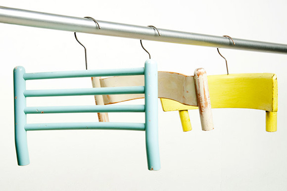 Broken Chair Coat Hangers  created by designer Antonello Fusè from REsign