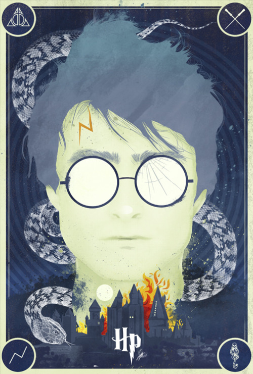 oliphillips:  Harry Potter Tribute Poster by Laz Marquez