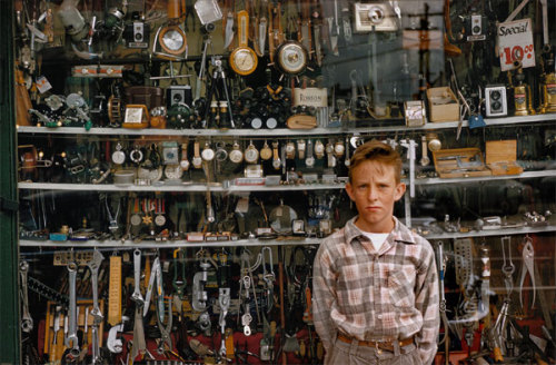 2nd Hand Store Boy, 1959 Fred Herzog