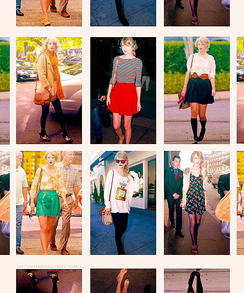 CLOSETS I'D LIKE TO RAID → Taylor Swift's