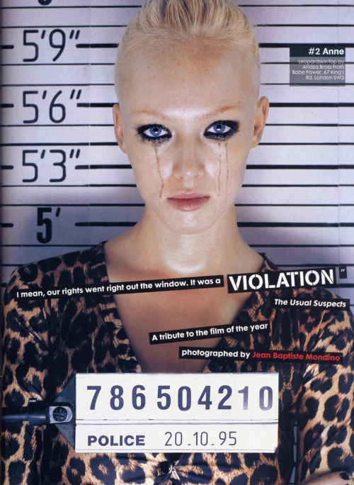 The Face Magazine: January, 1996.