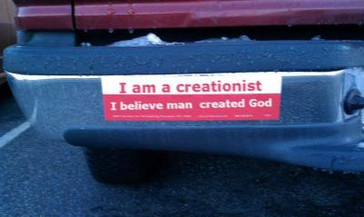 I BELIEVE MAN CREATED GOD!!