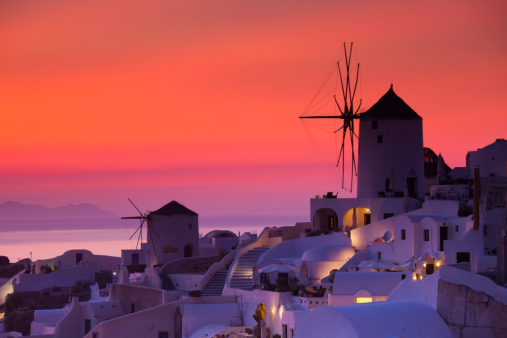 ninbra:  Santorini, Greece.