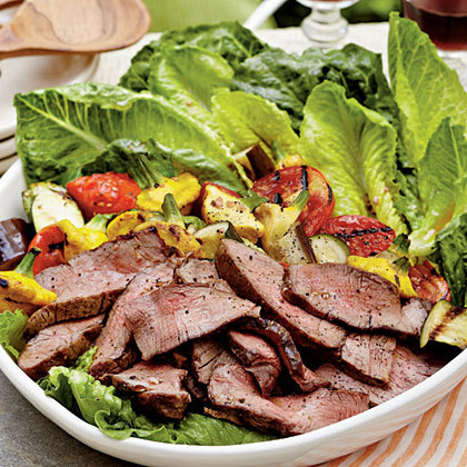 steak salad!