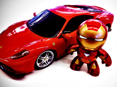 Iron Man's Ride