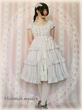 Victorian Maiden Henrietta Blouse Dress.