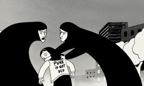 Punk is not ded, persepolis