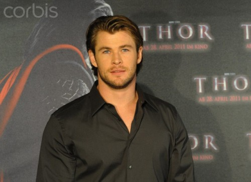 Chris Hemsworth red carpet event