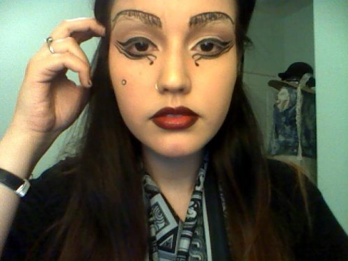 Submitted by lagio Lady Gaga Judas Makeup, done by Giovanna. http://www.lagio.tumblr.com/ http://www.youtube.com/user/L0v3ology