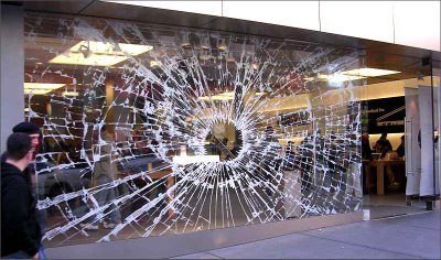 Apple's Broken Glass Illusion