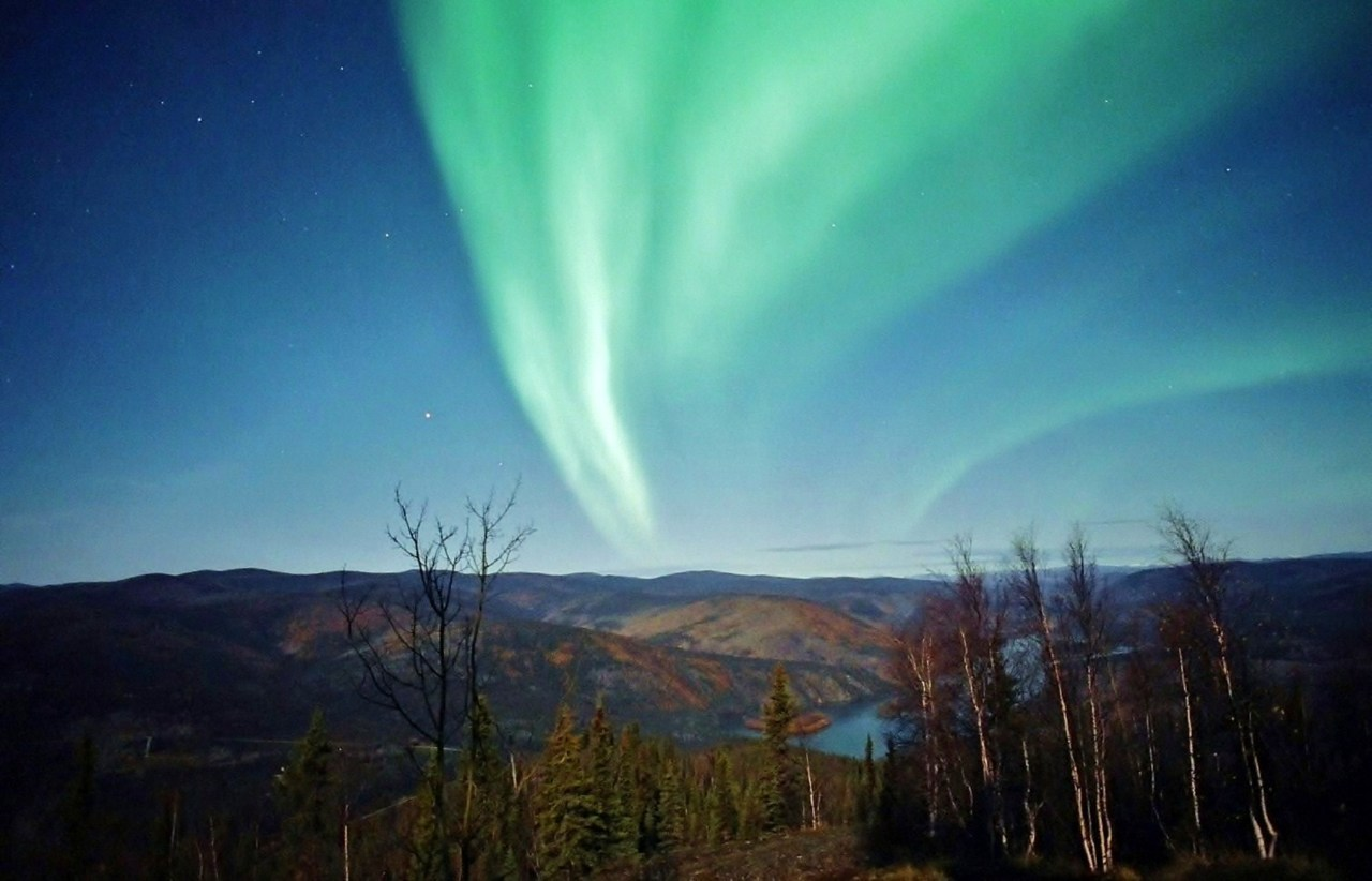 Moonlit Aurora | Flickr - Photo Sharing!