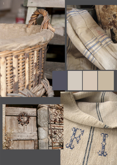 Rustic farmhouse mood board