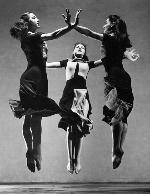 "theconstantbuzz:  Martha Graham, ""Celebration"" (Trio), 1937."