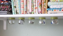 Under The Shelf Jar Storage tutorial.