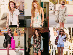 foxycyrus:  7 Things I love about Miley | 1: Her style.