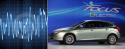 "What should a car sound like? Since electric cars make little noise, they are required to generate artificial ones or ""vroom tones"" for safety reasons. Ford is letting its Facebook community pick which sound their new Focus should make. http://bit.ly/pLwoCG"