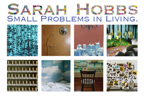 Coming Spring 2012Small Problems in LivingA hardback monograph of 28 photographs from 1999 - 2009 by Sarah Hobbs Published by Charta books Collector's Limited Edition, 20 books signed by the artist, accompanied by an original signed Sarah Hobbs photograph all encased in a cloth box.  Available for $1000. Photobooks are a great affordable way to collect art and invest in emerging photographers.  See more in this great article from The Guardian. Photobooks - affordable collectibles that are soaring in value. Please contact Solomon Projects to reserve your copy.
