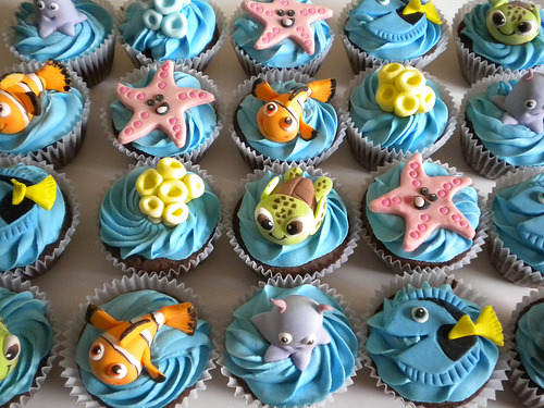 Nemo Cupcakes (by Pastelera Bakery Shop)