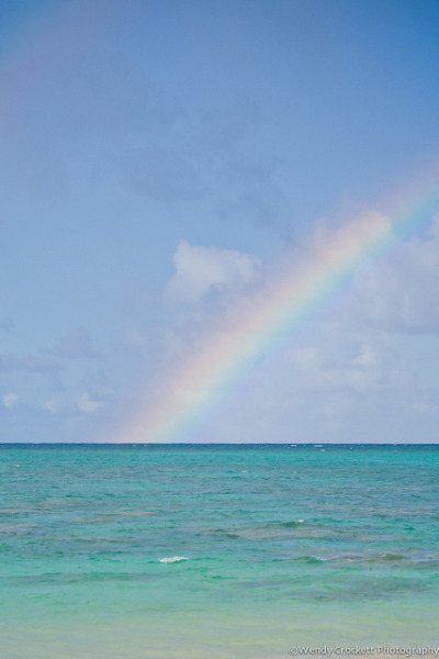 Heavenly Sea and Rainbow on Flickr.I miss Hawaii…