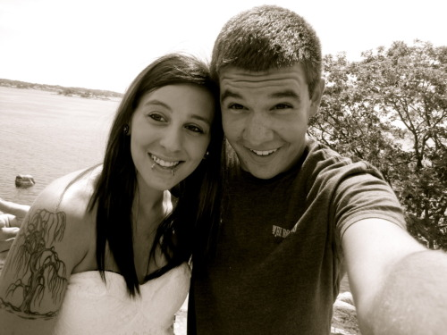rachel & i today at the beach! :D
