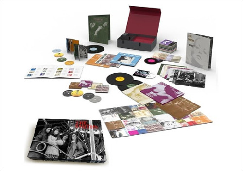 Smiths Remaster Box Set That's right! Dead on the heels of the enormous Nirvana Nevermind anniversary box, that dropped this week, arrives the Smiths remaster set.  Holy hen house! The first edition comes with eight albums, remastered on CD and vinyl. That's in addition to the 25 vinyl 45s also included. Photos and extras aplenty, this is a must have for even the biggest Smiths die hards. Limited to 3000 units and available through Rhino.