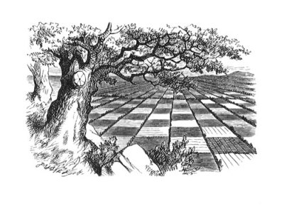 Illustration by Sir John Tenniel, from Through the Looking Glass