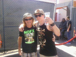 Me and Uncle Mark at the 2dbzBBQ.