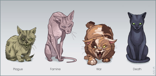 teamtywin:  masterofkarateandfriendship:  Cats of the Apocalypse
