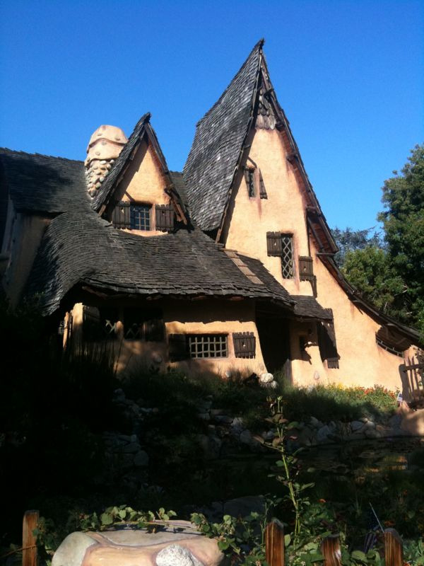We are currently in Beverly Hills for a fundraiser at The Witches House.  It was originally built as a film set in Culver City in the 20's before moving to its current location.  It was featured in the movie Clueless.