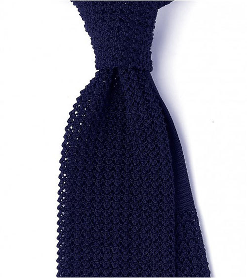 thetieguy:  great texture.  Navy baby.