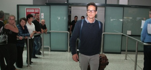 fuckyeahcaryfukunaga:   Director Cary Fukunaga Arrives in Sarajevo