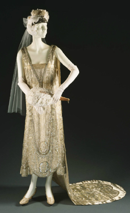 Court presentation ensemble ca. 1928 From the Philadelphia Museum of Art
