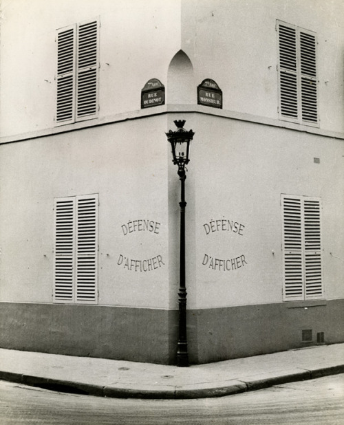 Andre Kertesz - Defense d'Afficher, Paris, 1936,  firsttimeuser
