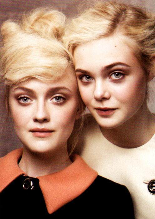 I love them! Elle Fanning and Dakota Fanning!