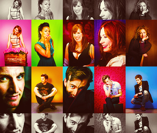 Doctor Who Cast (2005 - 2011)