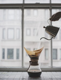 My morning ritual: Hario + Chemex