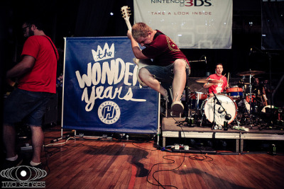 The Wonder Years Matt Brasch Warped Tour 2011