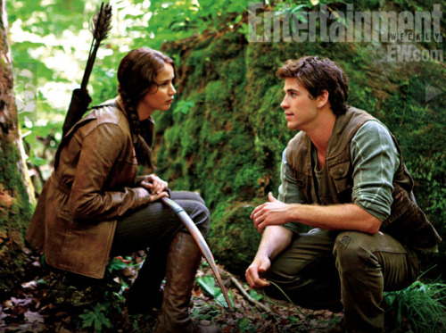homelesstrolley:  Katniss and Gale
