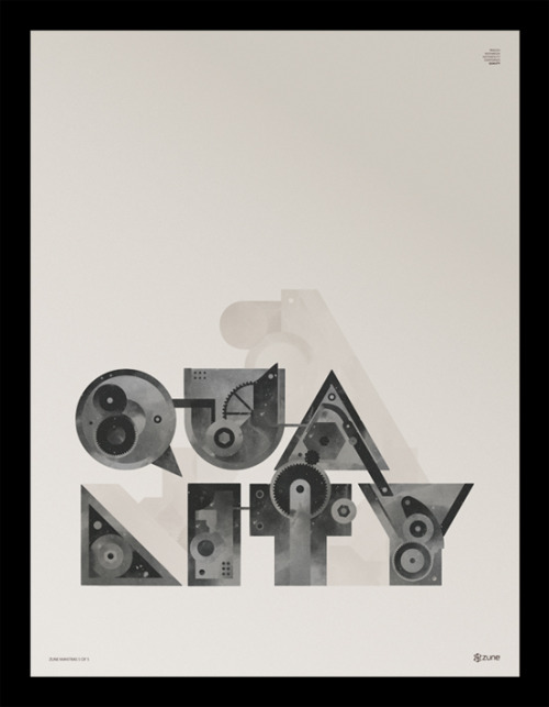 weandthecolor:  Zune Mantras Graphic artwork by Ramiro Torres. More graphic design inspiration. posted byW.A.T.C. // Facebook // Twitter // Google+