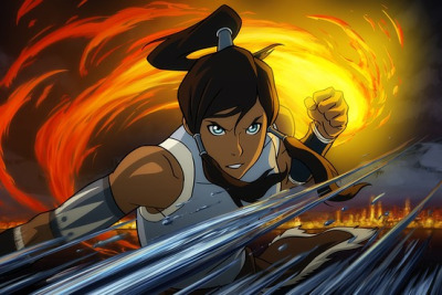Korra, The next Avatar after Aang's legacy is over, she comes in. Can't wait for this!